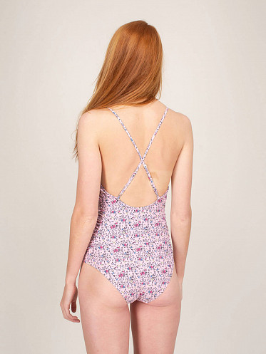 Recycled Matte Swimsuit pink