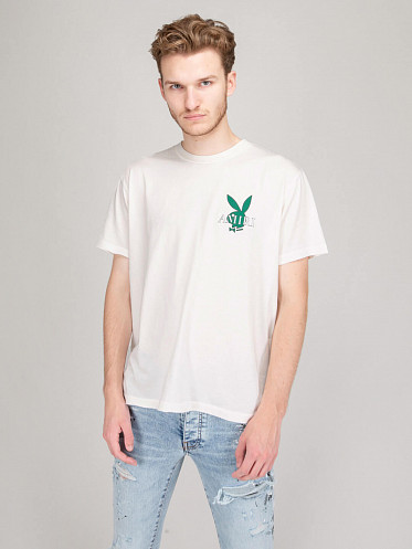 Playboy Cover Bunny Tee white