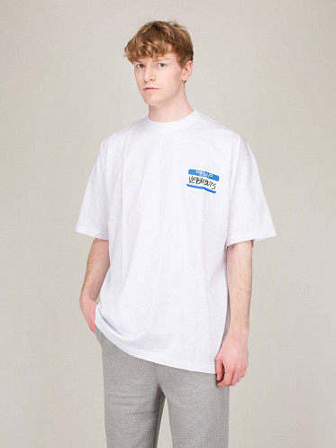 My Name is Vetements Tee white