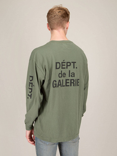 French Collector Longsleeve Olive