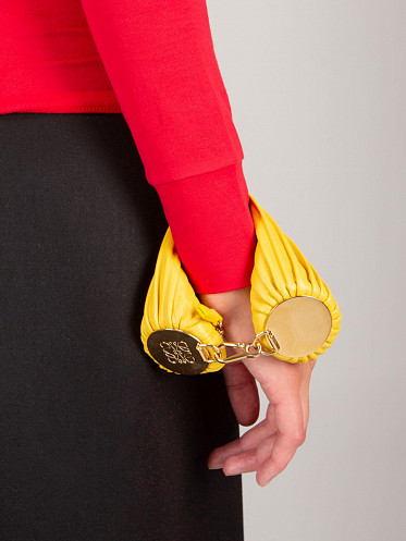 Small Bracelet Pouch yellow