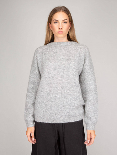 Knit Sweater cold grey