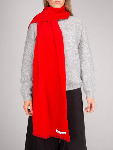 Scarf red