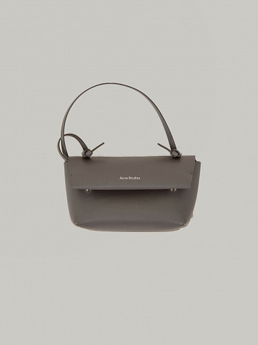 Knotted Strap Purse grey