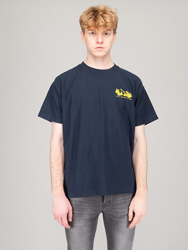 Recovery Tee vintage navy