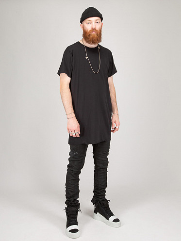 One Piece T-Shirt Taped black