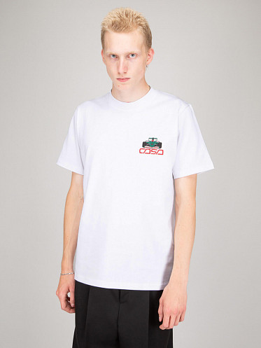 Casa Race Icon Double Sided T-Shirt white
