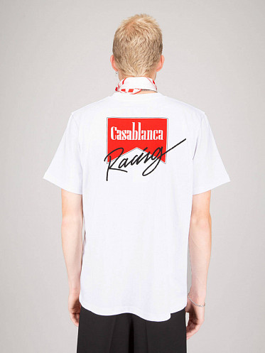 Casa Race Double Sided T-Shirt white