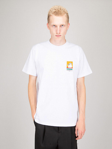 Racing Double Sided T-Shirt white