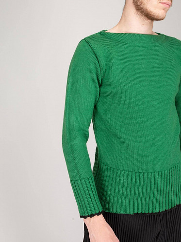Cropped Sweater green
