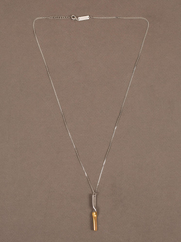Twisted Necklace gold/silver