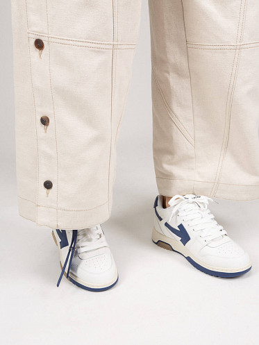 Out Of Office Sneaker white navy