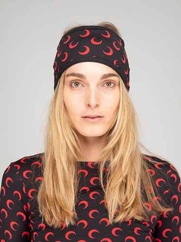 Branded Thermal Headband red
