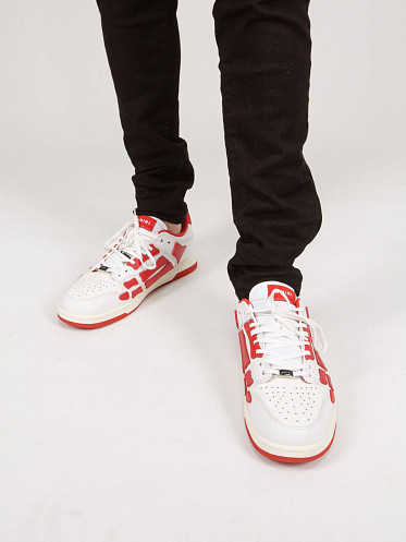 Skell Top Low Sneaker white red