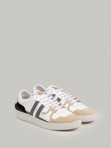 Clay Low Top Sneaker white