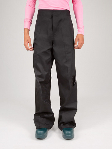 Workwear Pants with Pockets black