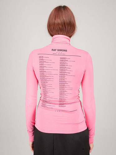 Tour Sous Pull pink