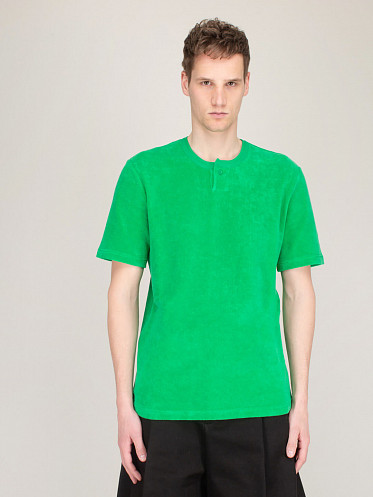 T-Shirt Towelling green