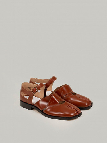 Sandals Leather brown