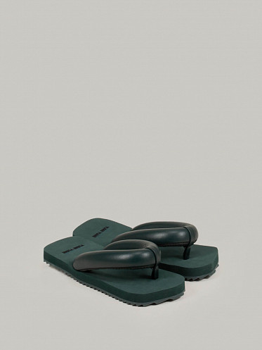 Suki Sandals forest green