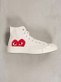 Play Converse High white