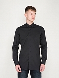 Business Tailor Fit Stretch Shirt black