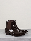 Carol Rubber Boots brown