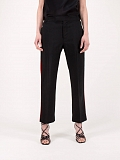 Casual Trousers Cosmos black red