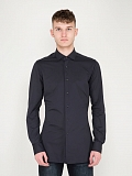 Business Tailor Fit Active Shirt dark blue