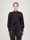 Drape Shirt black