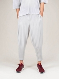 Plissé Pants light grey
