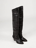 Remko Thigh Boots black
