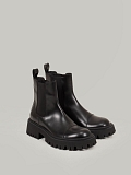 Tractor Chelsea Boots black