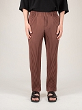 Tailored Pleats Pants brown