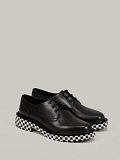 Derby Stamped Outsole black
